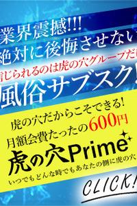◆毎月無料券、割引券が当たる◆ 虎の穴Prime!!